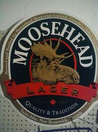 white, brown and red Moosehead Lager logo Colorado Springs, 80907