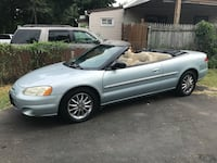 2002 Chrysler Sebring Limited Edition Convertible 51 km