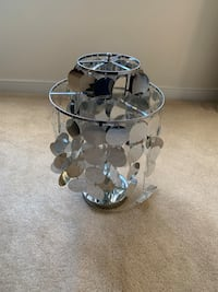 Target Lamp with Silver Decorations/Base Mechanicsville, 23111