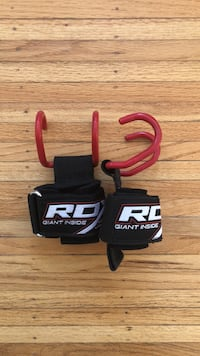 RDX lifting straps ( for that extra pull)