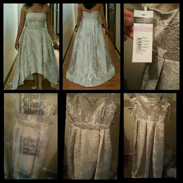 1af560bf5b8 Used NEW Wedding dress with veil from Dillard s for sale in ...