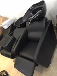 brand new leather black barber shampoo unit chair 多伦多, M8V 1X8