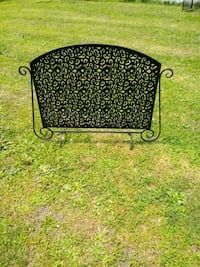 Fireplace Screen Hand Forge Wrought Iron  Prospect Park