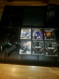 PS3 W/2 CONTROLLERS, GAMES AND HEADSET Liverpool, 13090
