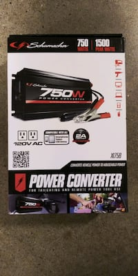 SCHUMACHER 750 WATT POWER CONVERTER Layton