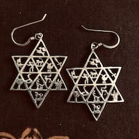 Star of David Earings Edmonton, T6A 1E1