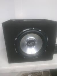 Subwoofer speaker and amp Richmond Hill, L4E 4M5
