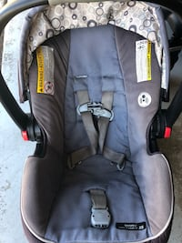 baby's black and gray car seat carrier Rocklin, 95677