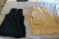 two black and brown crew-neck shirts Sainte-Julie, J3E