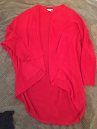 Size large wrap around sweater /cardigan with pockets  Calgary, T3K 6J7