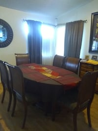 Glass table with 6 chairs Tucson, 85716