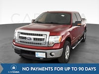 2014 Ford F150 SuperCrew Cab pickup XLT Pickup 4D 5 1/2 ft Red