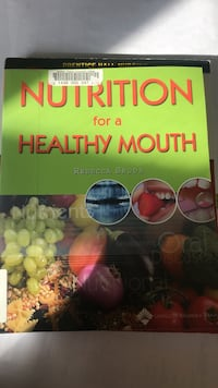 Nutrition for a Healthy Mouth by Rebecca Sroda book Lorton, 22079