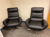 Set of leather chairs- new! Hagerstown, 21740