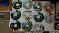 assorted Xbox 360 game discs Alexandria, 22306
