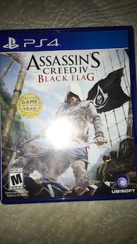 Assassin's Creed 3 Sony PS4 game case