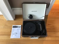 Black and gray crosley turntable (bought for 75) - free delivery Arlington, 22205