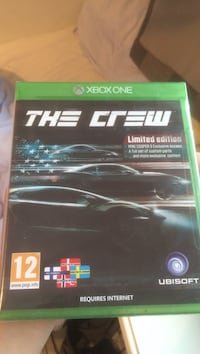Xbox One The crew Limited edition Skien, 3711