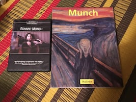 Edvard Munch DVD and Taschen book