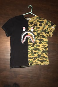 Bape shirt size medium