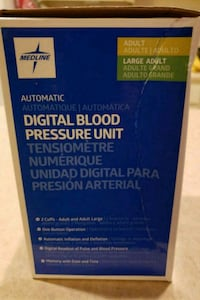 NEW Large Numbers Medline Blood Pressure Monitor Concord