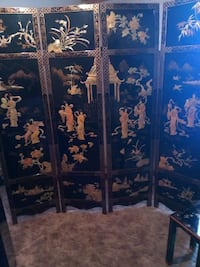 Room divider- black, gold and mother of pearl asia Albuquerque, 87121