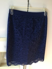 Brand new Forever 21 blue lace skirt in small Laval, H7M 1V1