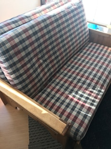 Queen size futon and bed