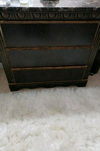 Night stand.brown wood. Good condition   Woodbridge, 22192