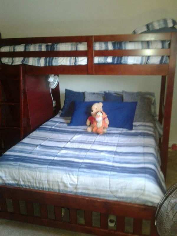 Used Bunk Beds Dresser Attached For