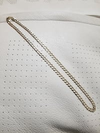 Brand New 14k Yellow Gold Curb Chain (7mm) Burnaby