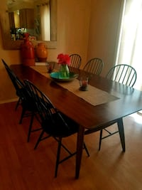 Pier 1 imports farm table + 8 chairs Mead, 99021