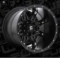 Fuel Hostage Wheels - D531 in Matte Black - 22x14 - 5x5 bolt pattern and a 5x4.5 bolt pattern. Set of 5 including spare.  Brand new in boxes Dover, 19901