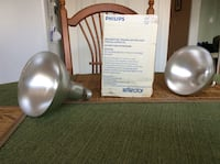 Phillips heat bulb total of 7 will sell separately Brampton, L6S 5X1