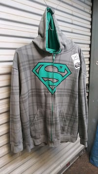 NOT SOLD Superman hoodie extra large size