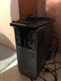 Asus computer tower, runs very well was over $800 comes with mouse and gaming keyboard
