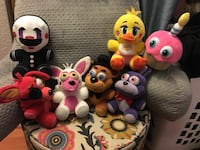 assorted animal plush toy collection Ventura