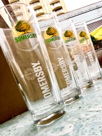 Set of 4 Somersby Cider Sleeve glasses Vancouver