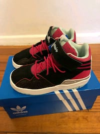 pair of black-and-pink Adidas sneakers Silver Spring, 20906