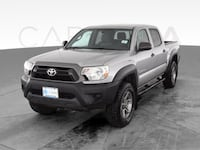 2014 Toyota Tacoma Double Cab pickup PreRunner Pickup 4D 5 ft Silver Providence