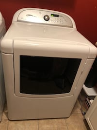 White front load Cabrio Electric clothes washer Gilbert, 85295