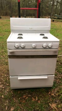 Gas range 4 burner two oven stove  McComb