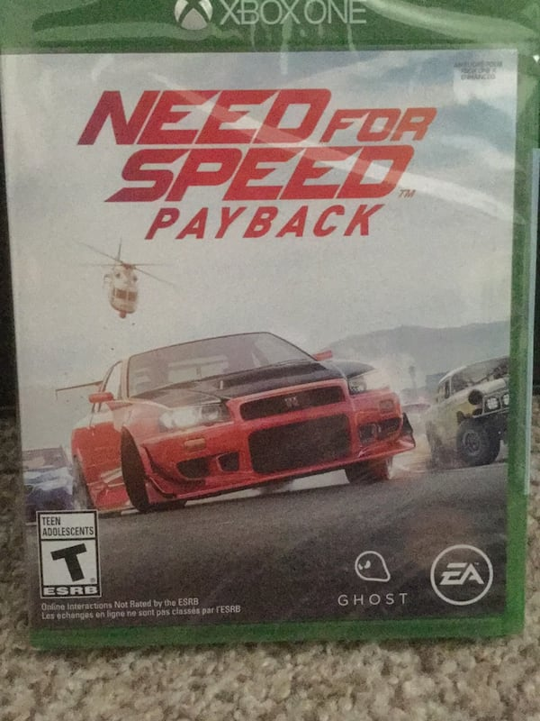 Used Need For Speed Payback New Xbox One For Sale In Pueblo Letgo