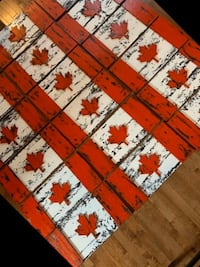 Handmade wooden flags 24x11  GREAT FOR FATHER'S DAY