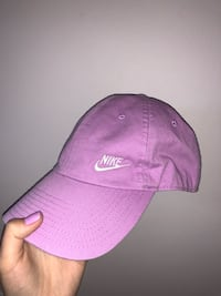 purple and white New York Yankees cap Victoria, V8N 6N2