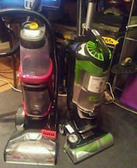 black and red upright vacuum cleaner Omaha, 68106