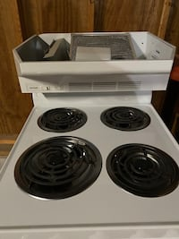 Almost new stove and hood for sale