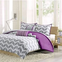 5 piece Queen duvet cover bed in a bag  Brampton, L6S 4G9