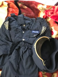 Police dress for Halloween