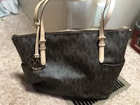 Black and gray michael kors tote bag Blossvale, 13308